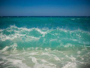 bandiere blu - onda del mare