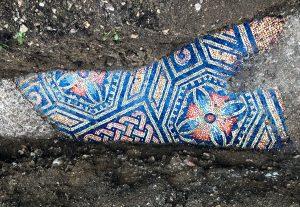 Un mosaico romano colorato