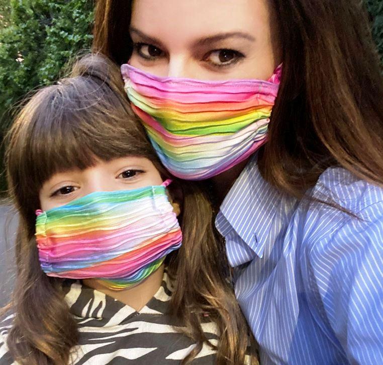 Laura Pausini e la figlia Paola
