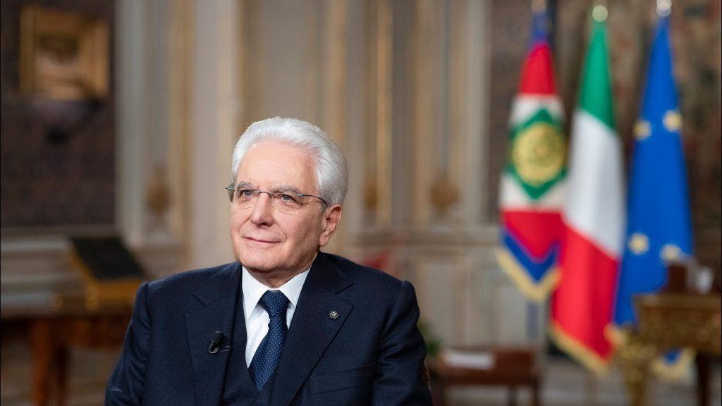 presidente sergio mattarella - president