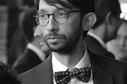 foto in bianco e nero di Riccardo