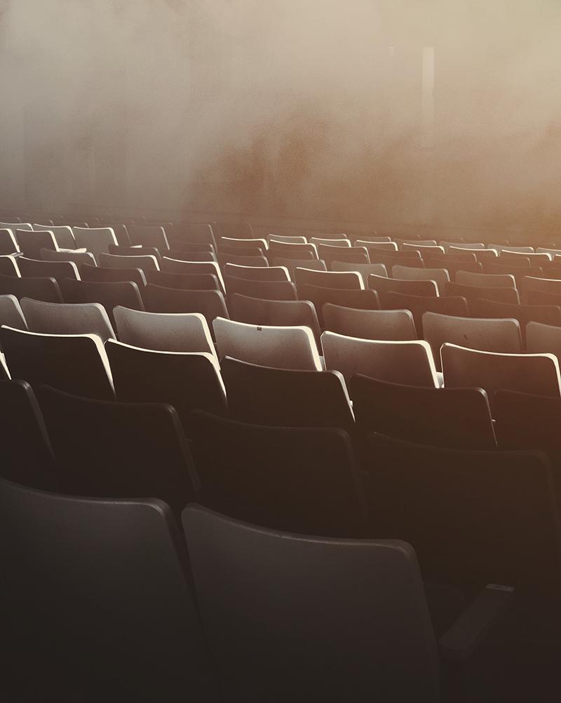 sale italiane - sedie del cinema - italian cinema, seats