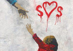 Tvboy - immagine di un bambino che tende la mano
