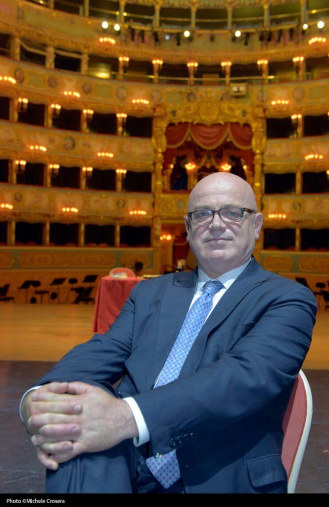 Fortunato Ortombina, superintendent and artistic director of La Fenice