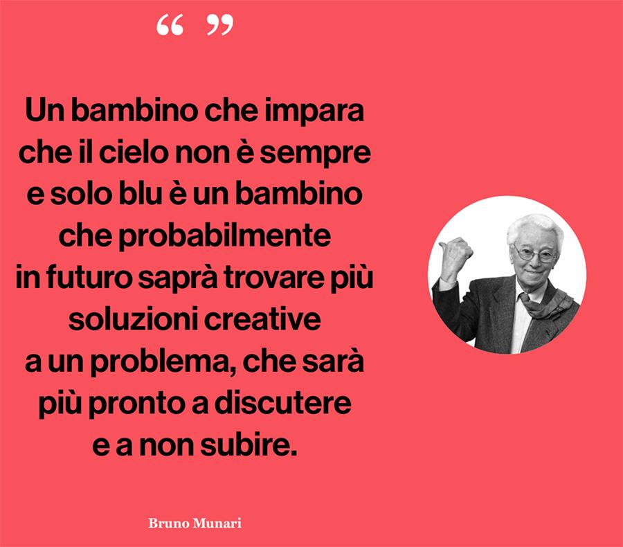 una massima di Bruno Munari - quote