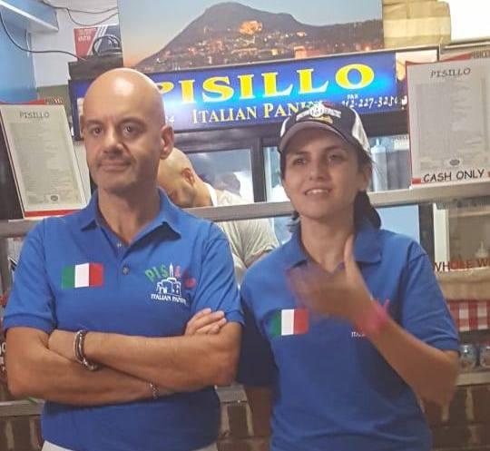 I panini di Pisillo. Carmelo e Antonella
