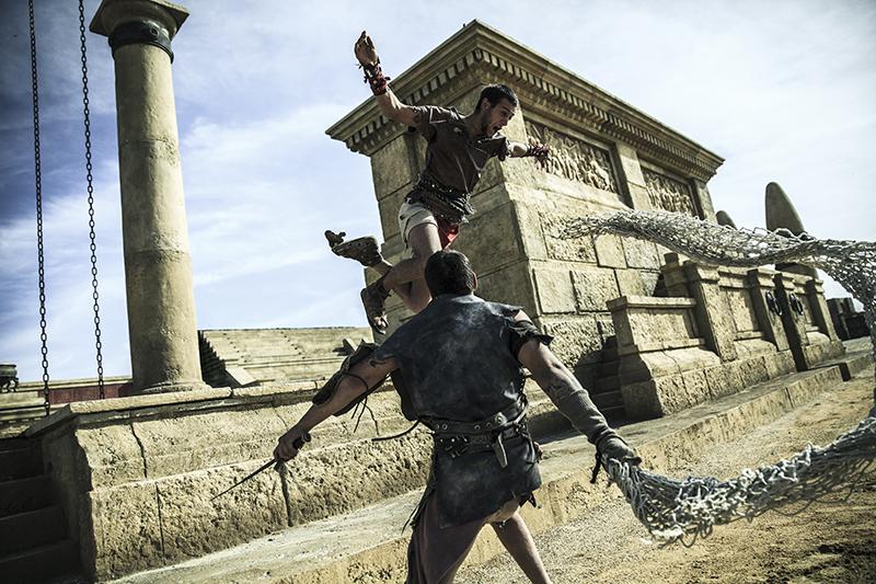 Al Roma World i gladitori