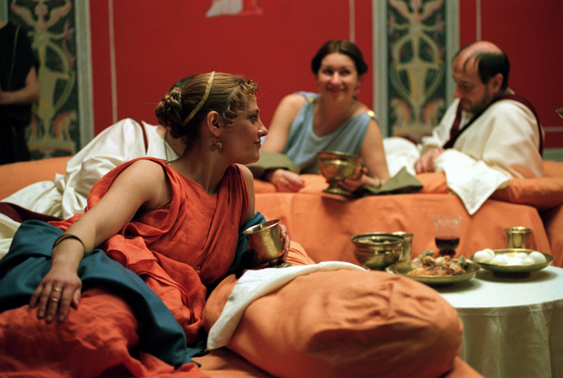 At Roma World you can eat food as romans used to do