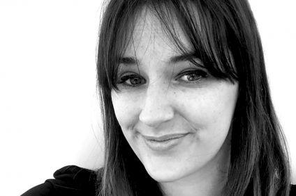 primo piano in bianco e nero di Alessia cornali