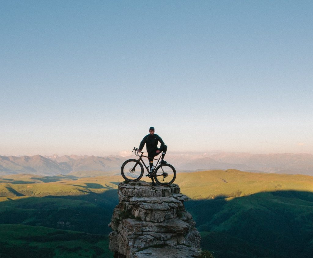 Sport - uomo in bici
