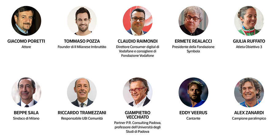 civil week - Alcuni degli ospiti della Civil Week 2020 - some of the guests of Civil Week 2020