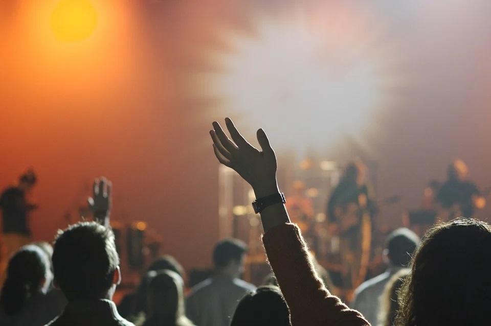 particolare di un concerto
