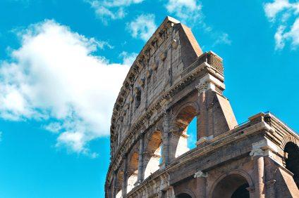 dettaglio del Colosseo