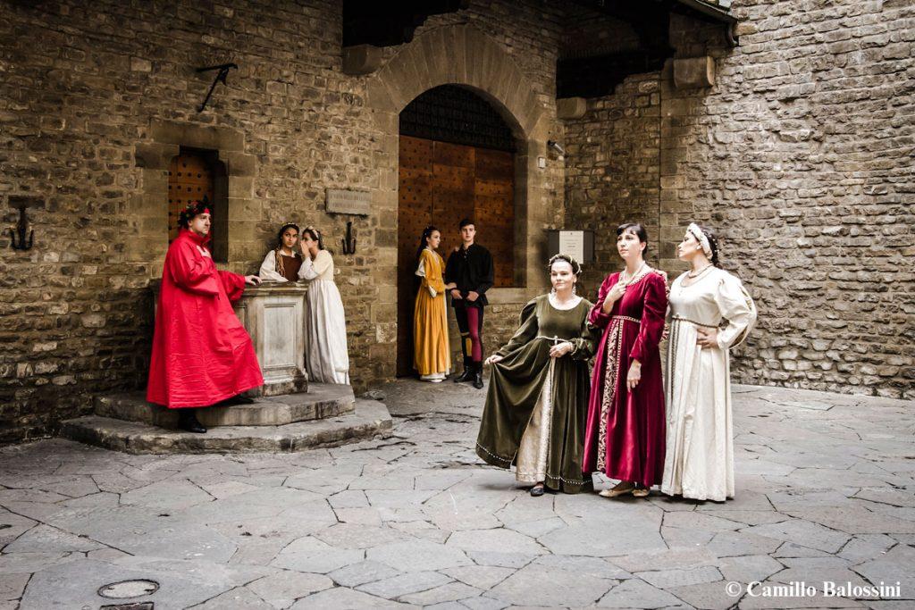 Il museo casa di Dante all'esterno