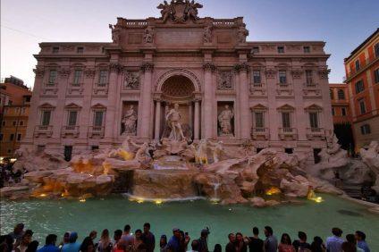 La meravigliosa Fontana di Trevi