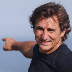 Alex Zanardi - un primo piano del campione
