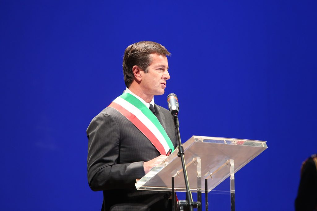 the mayor of bergamo giorgio gori