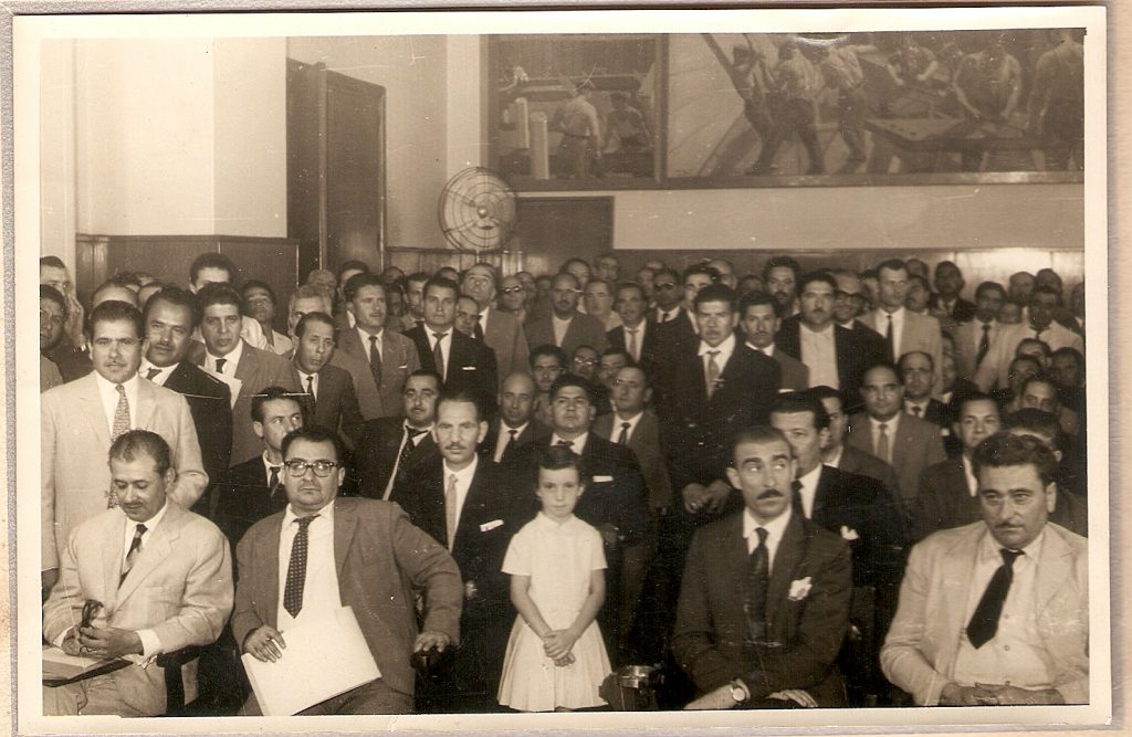 emigrato italiano - antica foto con Emigrati italiani in Argentina in bianco e nero