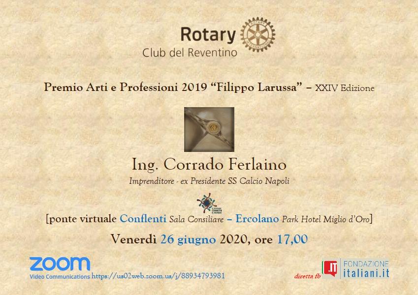 Ferlaino - Locandina Premiazione - Ferlaino - Locandina Premiazione