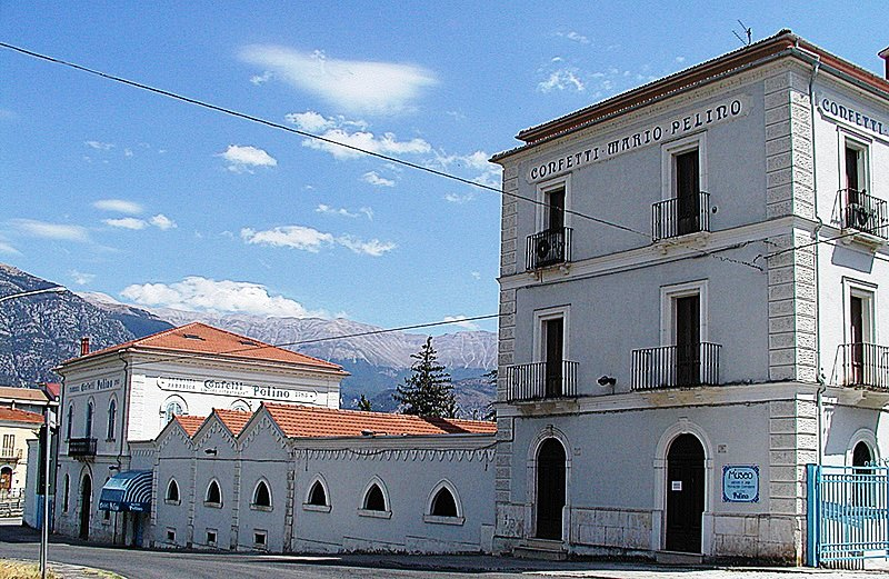 the confectionery museum of Sulmona