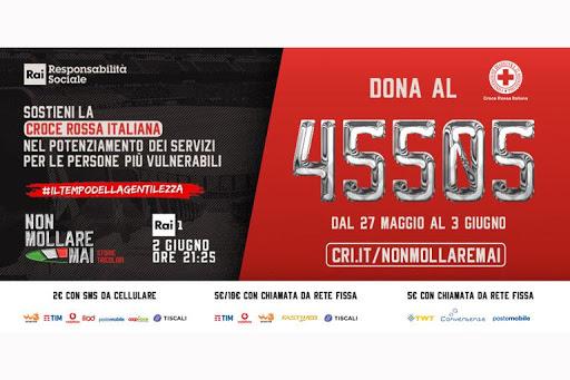 """storie - slide con numero di telefono per la donazione - stories - event poster """"never give up"""""""