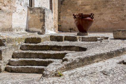 Museo della ceramica - vaso su scale