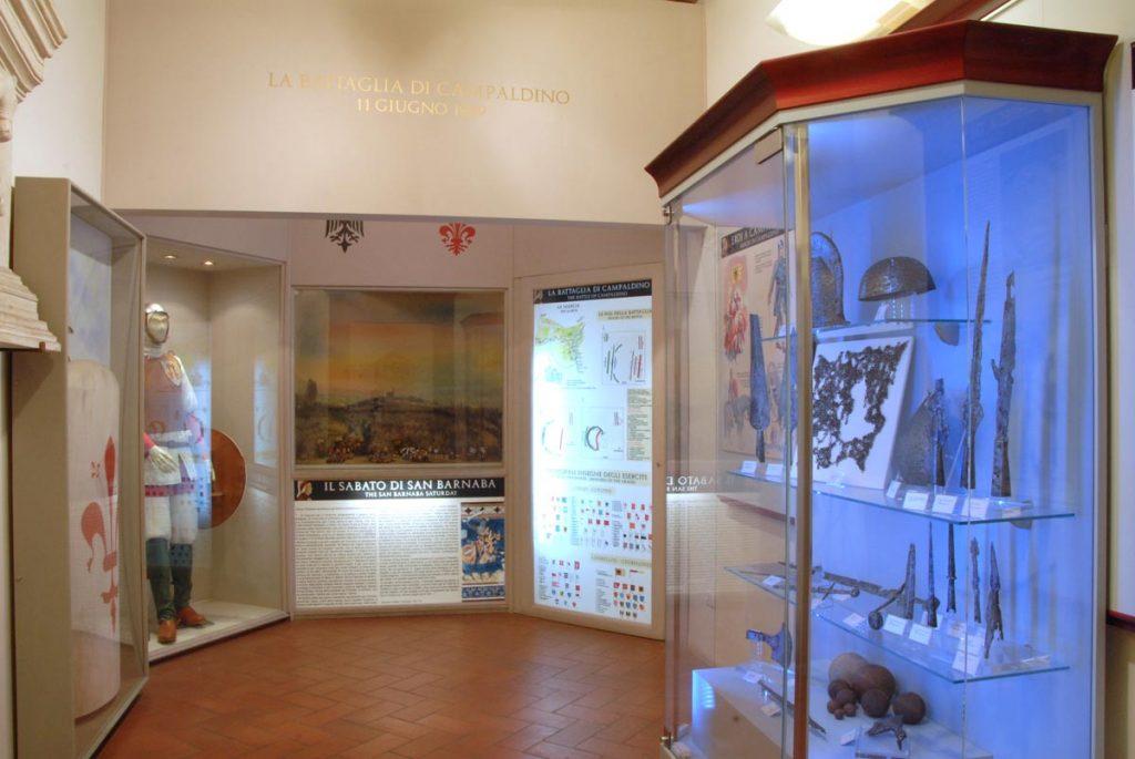 Il museo casa di Dante si articola in tre piani