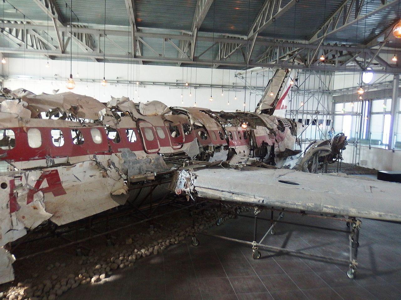 strage di ustica resti dell'aereo caduto