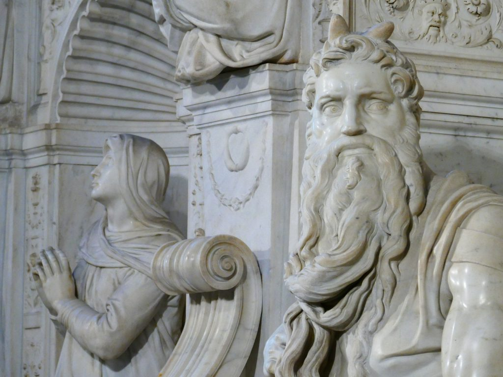 Antonio Forcellino, Il Mosè di Michelangelo. Foto Pixabay