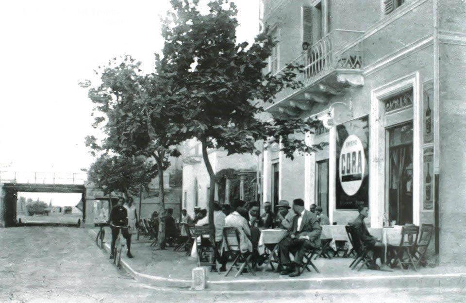 San Benedetto del Tronto - foto in bianco e nero del vecchio caffè Florian