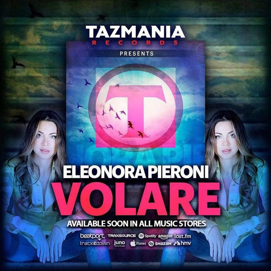 Eleonora Pieroni, il singolo Volare - the song Volare