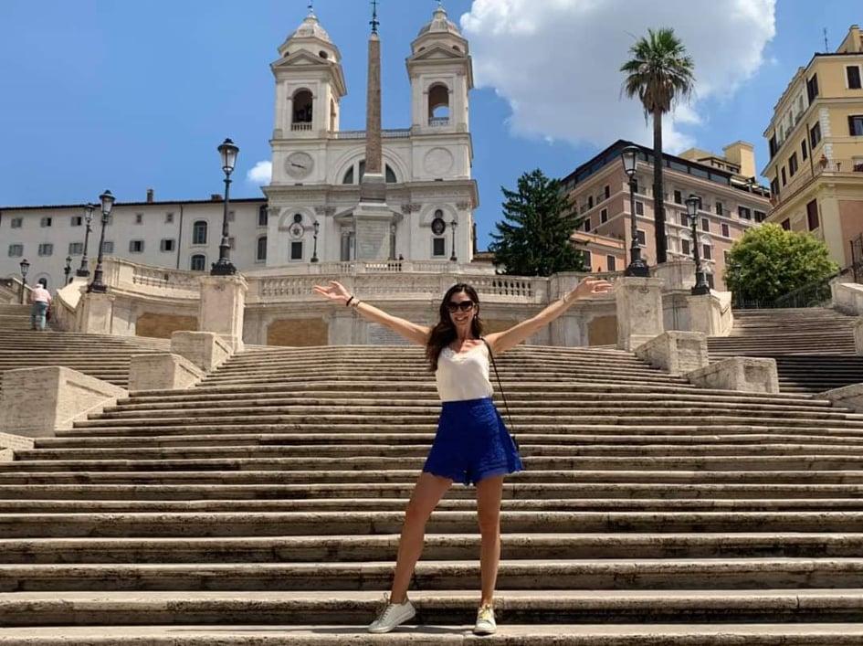 Eleonora Pieroni a Roma / in rome
