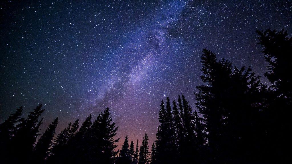particolare di cielo stellato