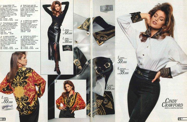 Cindy Crawford posa per Postalmarket