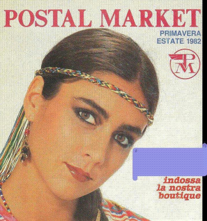 Copertina di Postalmarket del 1982