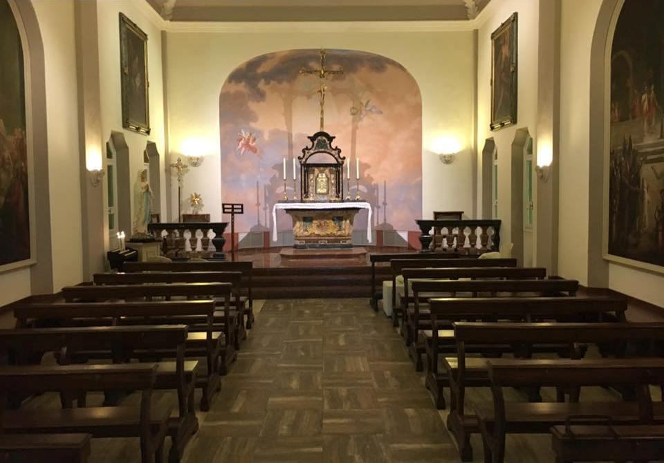 Villa Necchi alla Portalupa, la chiesetta / church