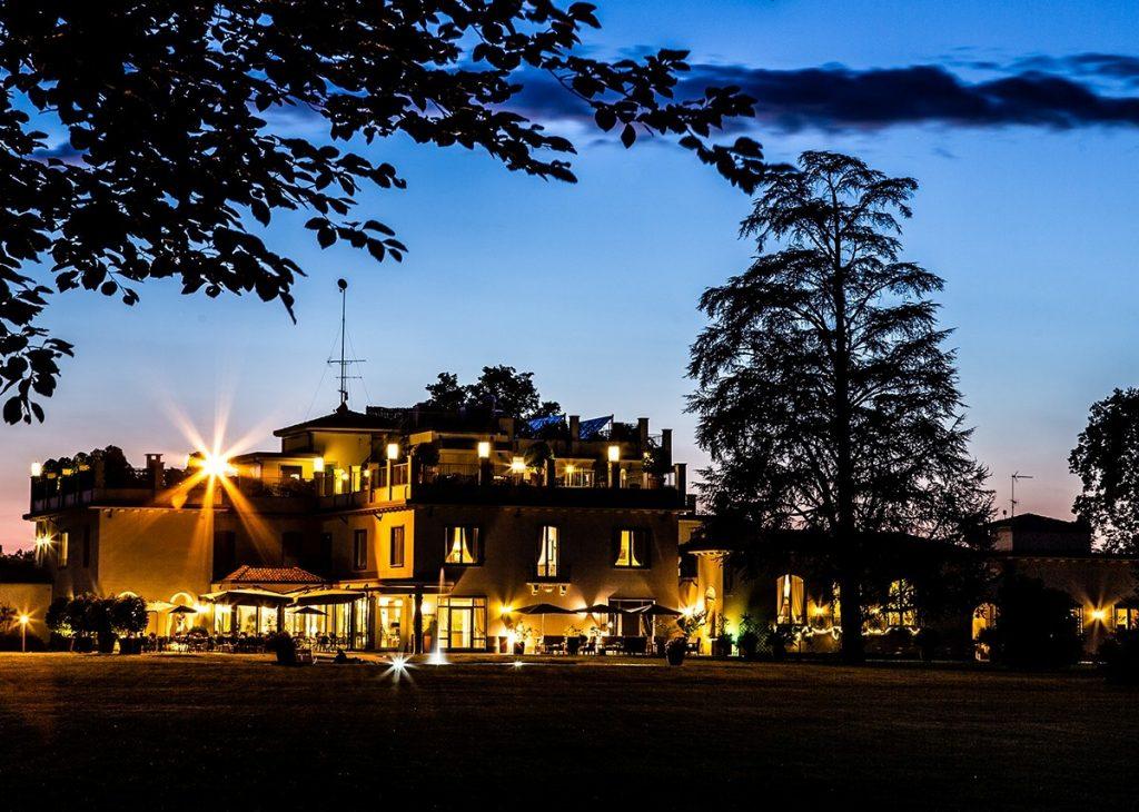 Villa Necchi alla Portalupa illuminata - lit