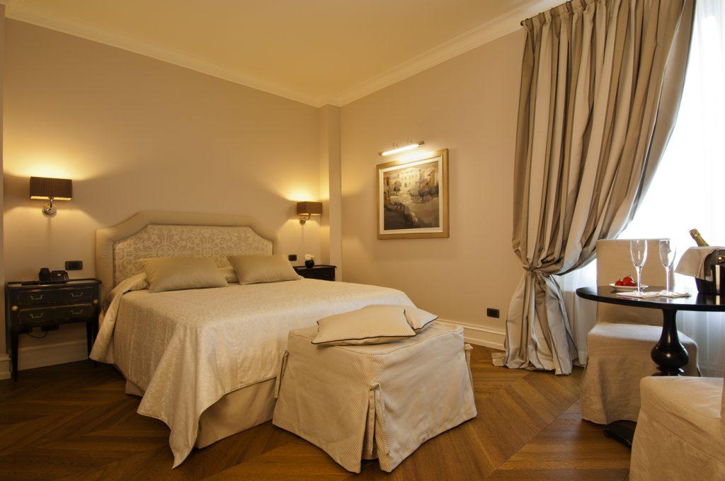 Villa Necchi alla Portalupa, camera da letto / bedroom