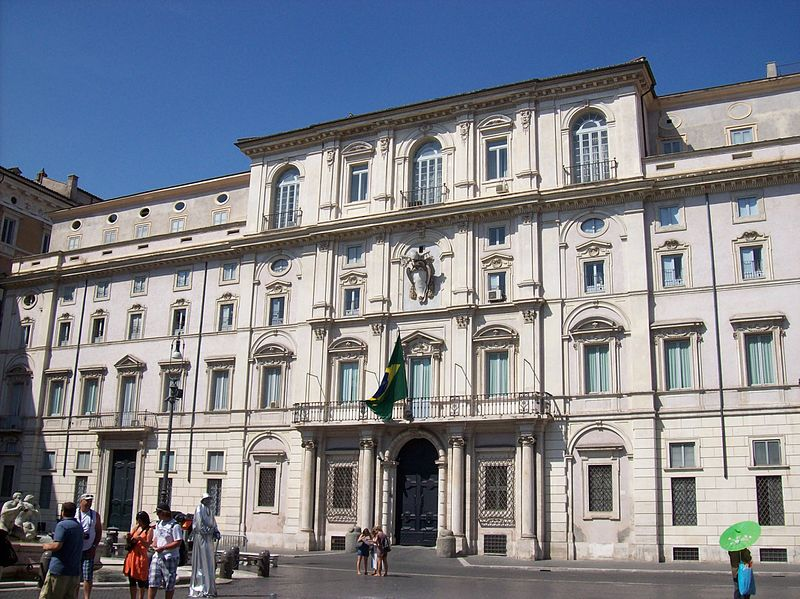 Il legame tra Italia e Brasile, sede ambasciata a Roma / The special bond between Italy and Brazil, the embassy in Rome