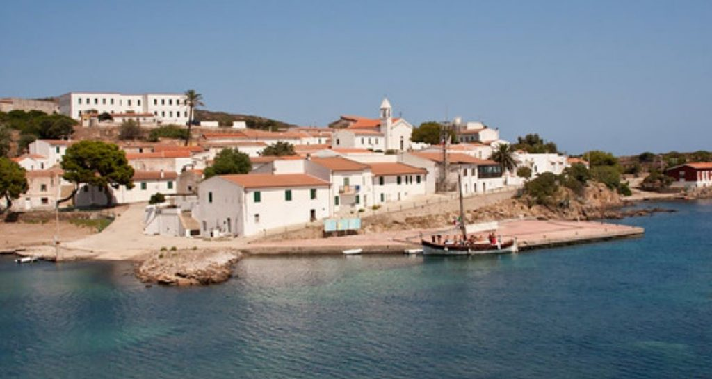 Asinara - Panorama dell'isola