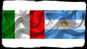 bandiera italia e argentina