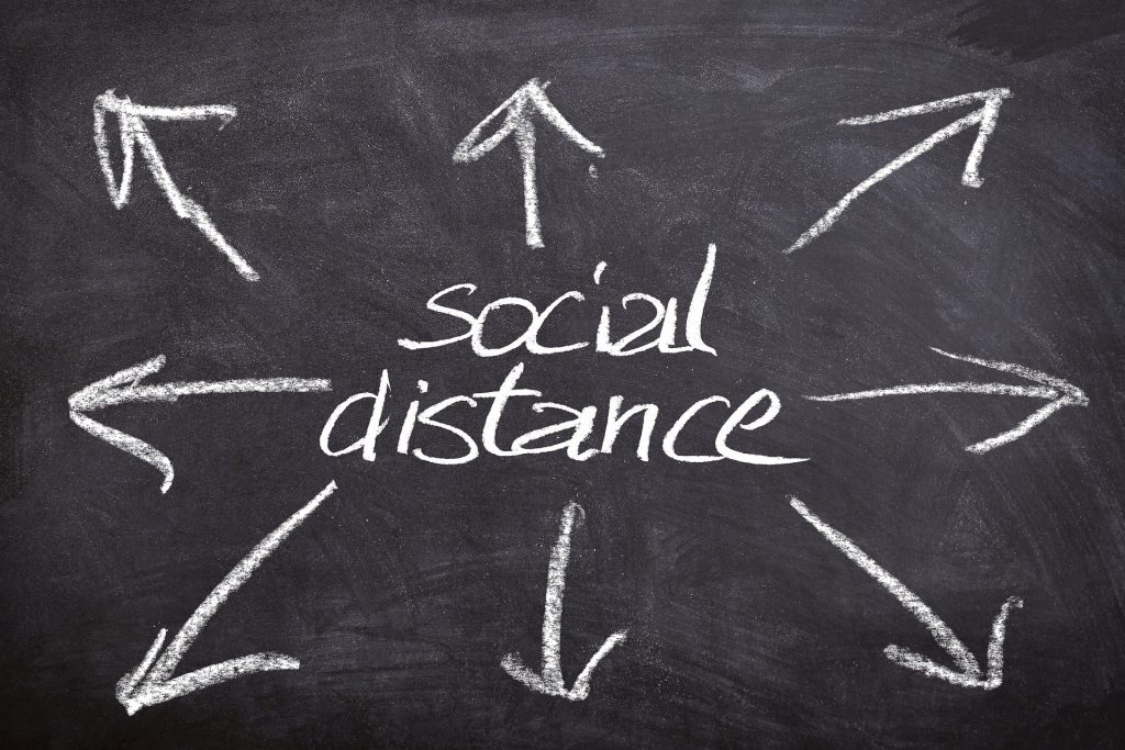 distanziamento sociale