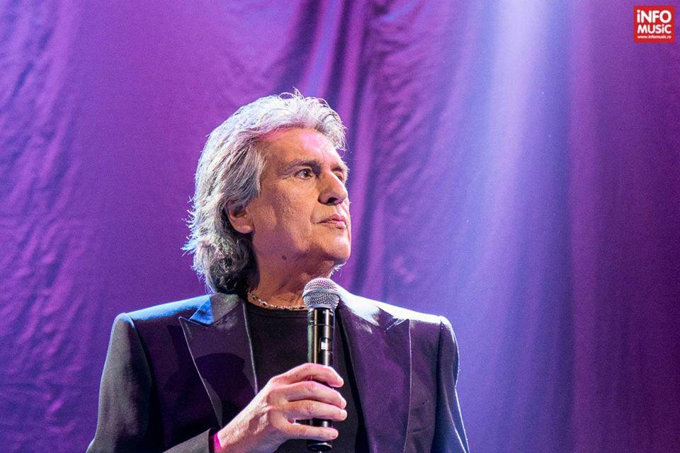 Il cantante Toto Cutugno - singer