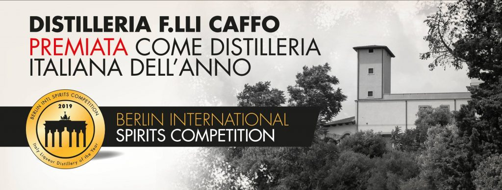 distilleria caffo prima in italia / first caffo distillery in italy
