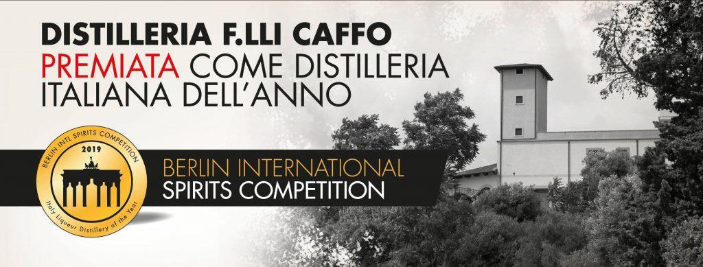 distilleria caffo prima in italia