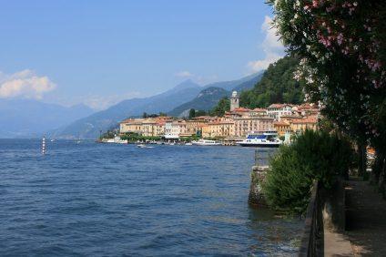 veduta del lago di Como