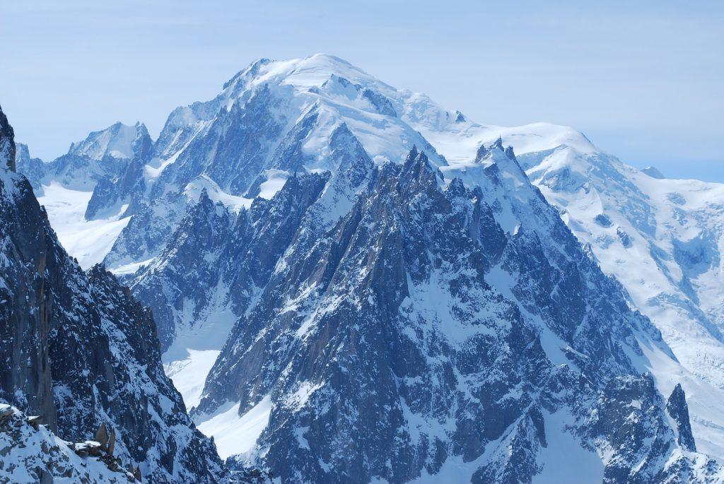 cima del monte bianco/ the top of mont blanc