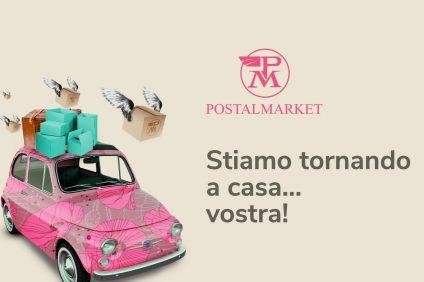 locandina del ritorno di Postalmarket