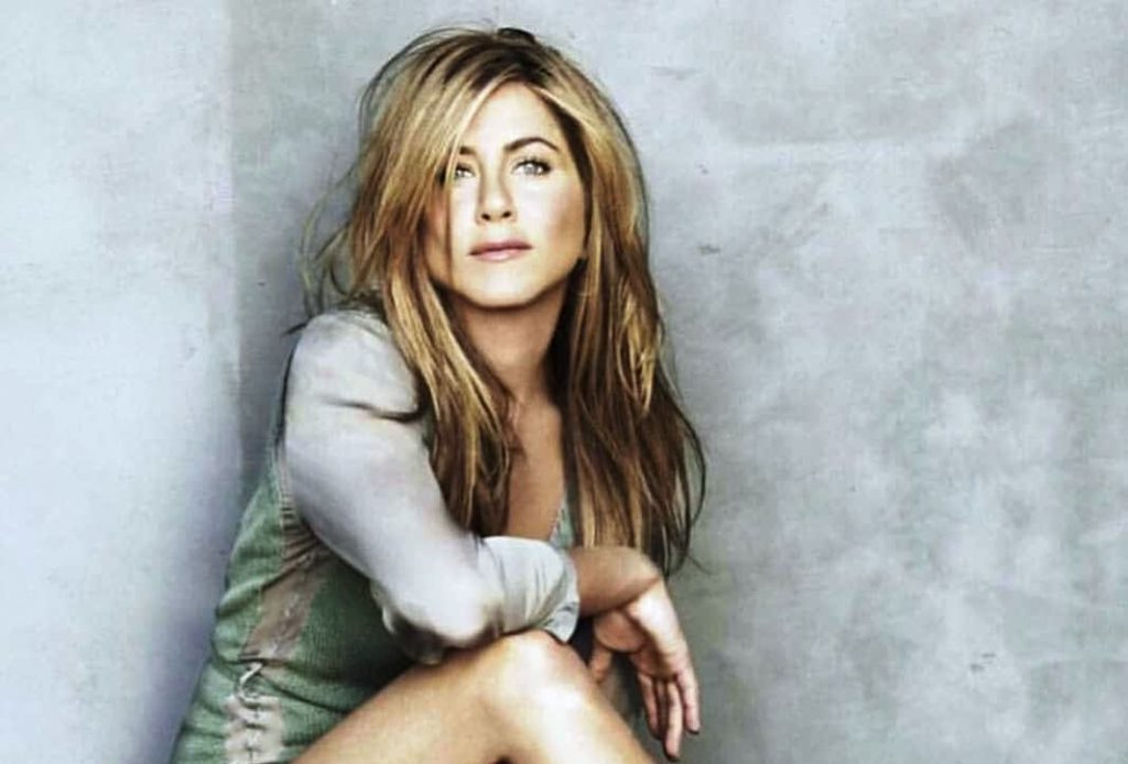 Un primo piano di Jennifer Aniston