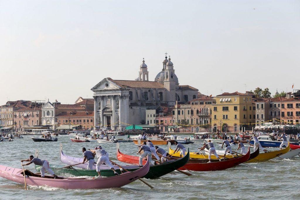 redentore a venezia - la regata / redeemer in venice - regatta
